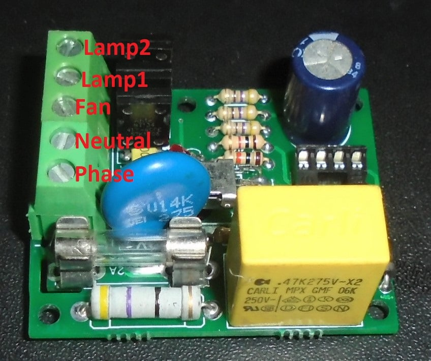 Remote Controlled Fan light switch design for sell