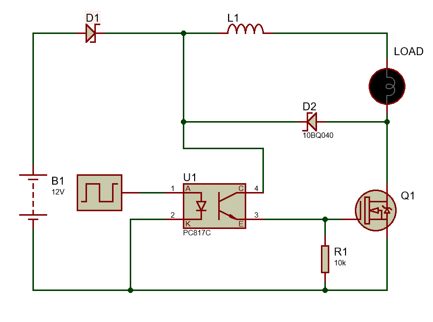 Buck converter with N channel MOSFET