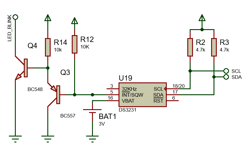 DS3231 interface