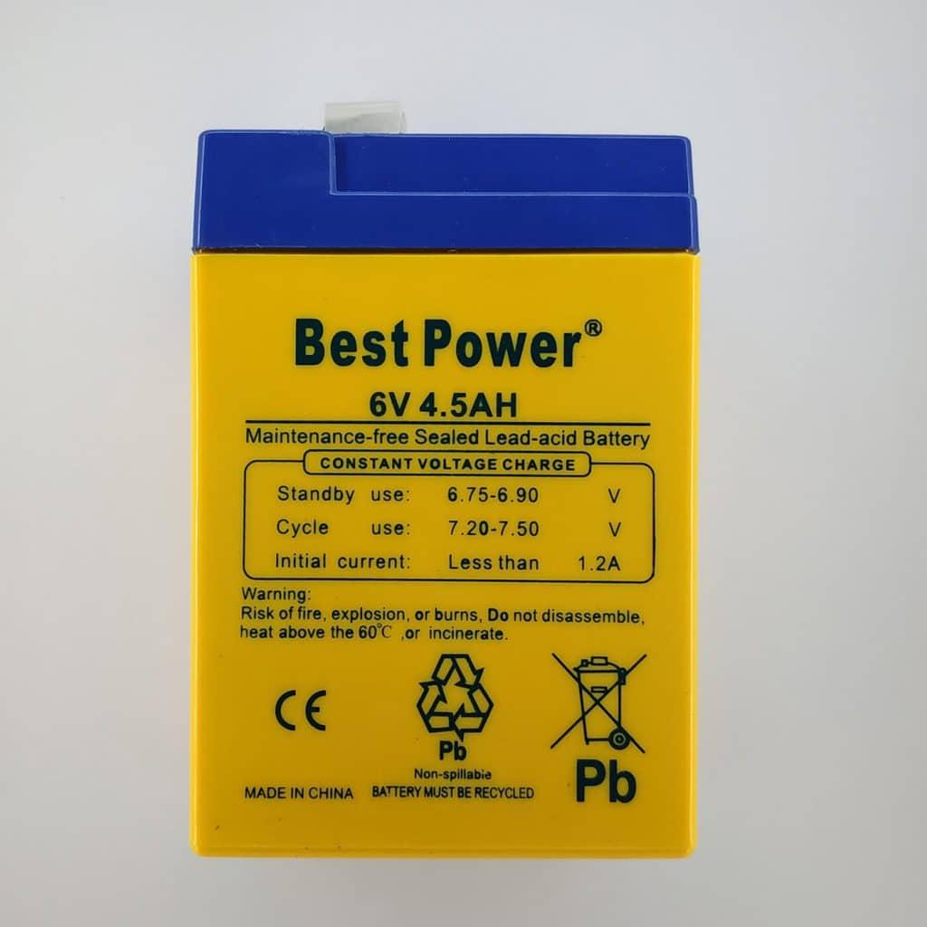 6V battery
